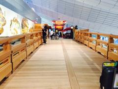 羽田空港国際線ターミナルのはねだ橋