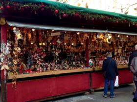 ミュンヘンのクリスマス市の屋台