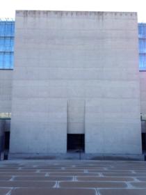 エジプト美術博物館の入口2