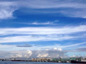 山下公園の空(横浜)①