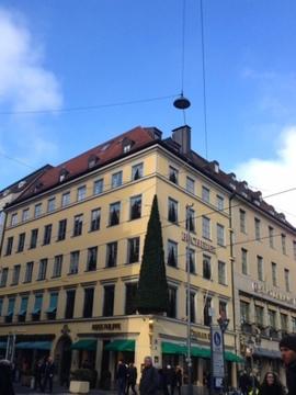 時計屋さんのクリスマスツリー