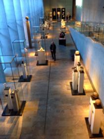 エジプト美術館博物館の展示室