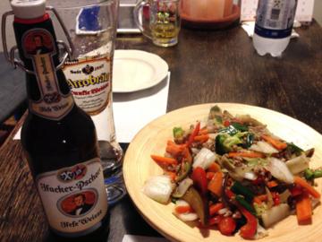 ある日の夕食 inドイツ
