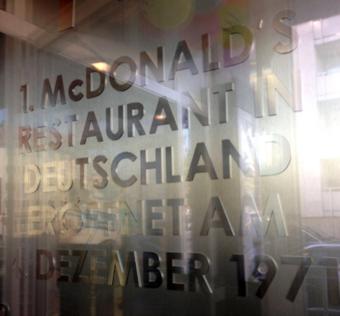 ドイツのマクドナルド1号店②