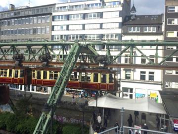 世界最古のモノレール in ドイツ①