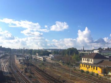 ドイツの鉄道線路