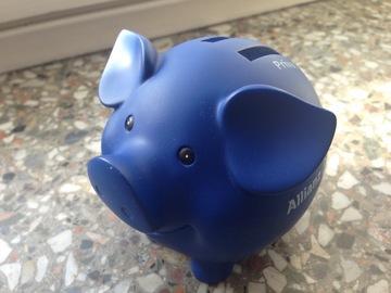 ドイツのブタさんの貯金箱
