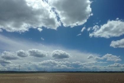 南ドイツの夏の雲②