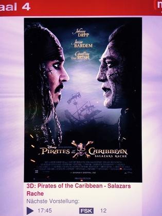 パイレーツ・オブ・カリビアン 最後の海賊(ドイツ語版)