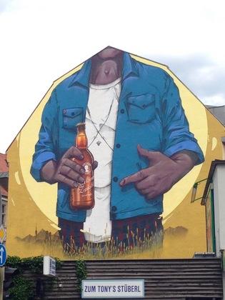 ドイツの壁面アート(家の壁)