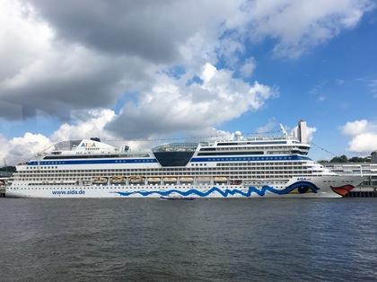 ハンブルクの港の風景 3