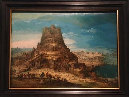 「バベルの塔」ヘンドリック・ヴァン・クレーヴ